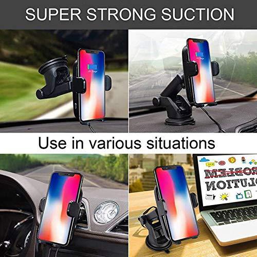 Sam infrared induction wireless car charger. SM Infrarrojos Sensor Coche Cargador inalámbrico Compatible para Todos los teléfonos Inteligentes, Samsung, iPhones