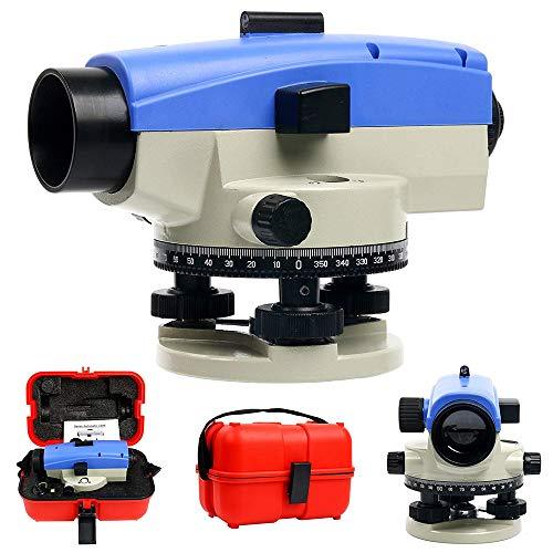 HUKOER 32x Nivel óptico Encuesta automática de tránsito Medidor de nivel de...