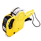 8 Digits Price Numerical Tag Gun Label Maker MX5500 EOS with Sticker Labels & Ink Refill for Office, Retail Shop, Grocery Store, Organization Marking