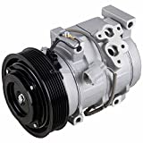 AC Compressor & A/C Clutch For Toyota Camry Highlander & Solara 2.4L 4-Cyl - DOES NOT FIT V6 OR HYBRID! - BuyAutoParts 60-01592NA NEW