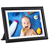 Digital Picture Frame, Pastigio 10.1' HD WiFi Digital Photo Frame, 1080P Touch Screen,16GB Memory, Auto-Rotate, Wall Mountable, Cloud Share Videos and Photos via App, Email, Easy Set-up