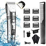 Hair Clippers, IGYLAR Professional Cordless Clippers Hair Trimmer Beard Shaver Electric Haircut Kit