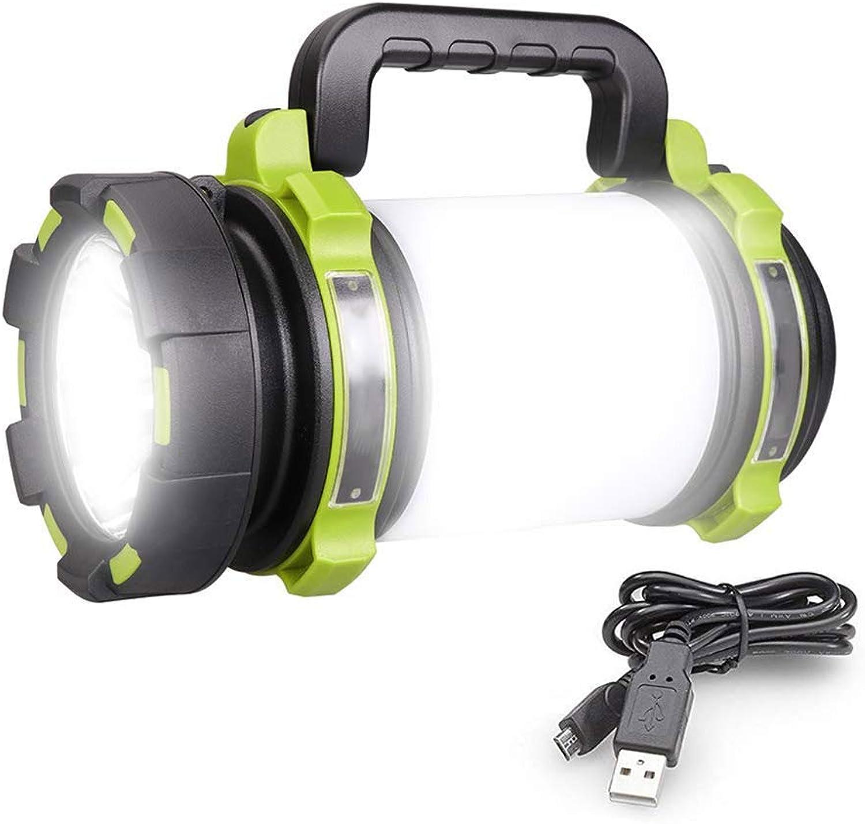 YFQH Wiederaufladbare LED-Taschenlampe, Multifunktionslicht Multifunktionslicht Multifunktionslicht wasserdicht, superheller Scheinwerfer, 4000mAh Akku, Outdoor-leistungsstarke Taschenlampe B07L3THL7S  Mode dynamisch 272d3c