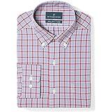 Plaid&Plain Men's Oxford Button Down Shirts...