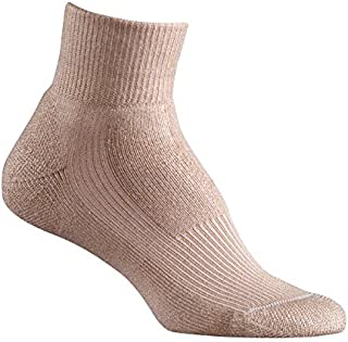 FoxRiver Women's Wick Dry Walker Lightweight Quarter Crew Socks
