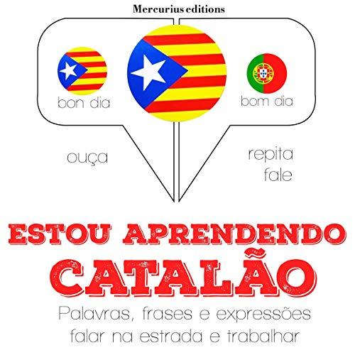 Diseño de la portada del título Estou aprendendo catalão
