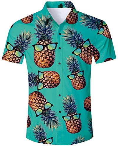 Youth Adult Aloha Hawaiian Print Shirt 80s Vibrant 3D Pattern Hawaiian Brown Geometric Polo Shirts Apparel Solid Formal Dress for Bithday Party Casual Daliy School Holiday