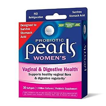 Nature s Way Probiotic Pearls Women s 1 Billion Live Cultures 30 Softgels
