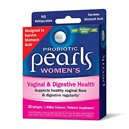 Nature's Way Probiotic Pearls Womens, 1 Billion Live...
