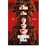 DNJKSA Muñeca Rusa Natasha Lyonne Serie de TV Póster de Arte en HD Impresión en Lienzo Imágenes de l...