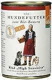 defu Cibo biologico per cani High Sensitive Menu, confezione da 12 (12 x 410 g)