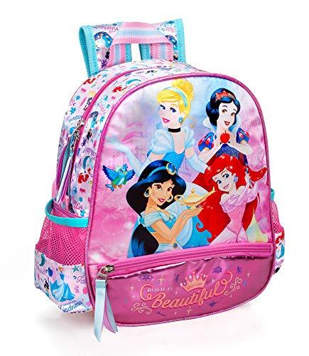 Zaino Asilo Principesse Disney Cenerentola Jasmine Biancaneve Ariel Scuola Bambina CM.29x25x11-10816