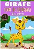 Livre de Coloriage Girafe: Pour Enfants Filles & Garçons | Livre Préscolaire 40 Pages et Dessins Uniques à Colorier sur Les Girafes, Animaux de La ... | Idéal Activité Anti Stress à la Maison.