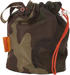 Camouflage Medium GoKnit Pouch Project Bag w/ Loop & Drawstring