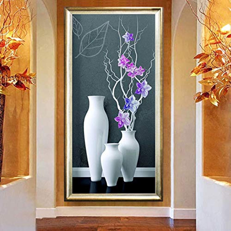 MYLOOO Vase 5D 5D 5D DIY Diamant Malerei Blaumenschmuck Diamant Kreuzstich Diamant Mosaik Diamant Stickerei Wandaufkleber 50X100 cm B07JHXRJN8 | Speichern  0b03f8
