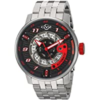 GV2 By Gevril Men's 1300B Motorcycle Sport Automatic Date Watch