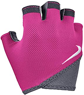 Nike Women's Gym Essential Fitness Gloves S Rush Pink/Anthracite/White|628