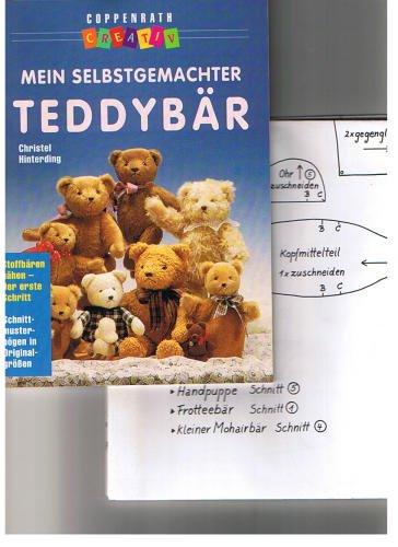 Mein selbstgemachter Teddybär. Stoffbären nähen - der erste Schritt