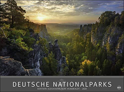Deutsche Nationalparks - Edition Alexander von Humboldt. Wandkalender 2020. Monatskalendarium. Spiralbindung. Format 78 x 58 cm - Partnerlink