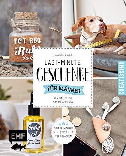 Last-Minute-Geschenke für Männer: Vom Bartöl bis zum Messerblock (Creatissimo)