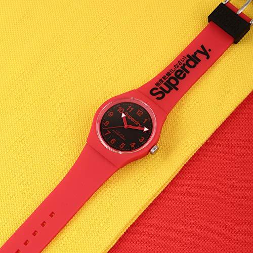 Superdry, orologio al quarzo Urban con cinturino in silicone e plastica,...