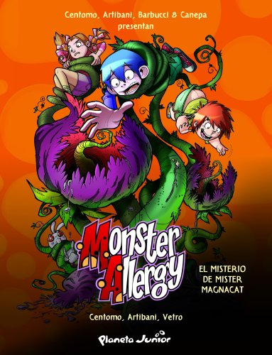 El misterio de mister Magnacat: Monster Allergy. Cómic 3