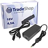Notebook Laptop Netzteil Ladegerät Ladekabel Adapter 16V 4,5A 72W inkl. Stromkabel für IBM Thinkpad R-41 R-42 R-43 R-50 R-51 R-52 R-53 X-20 X-21 X-22 X-23 X-30 X-31 X-32 X-33 X-40 X-41 X-42 X-43