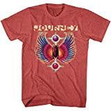 Journey Rock Band Music Group Colored Wings Logo Adult T-Shirt Tee