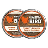 Madison Park Food - Chairman of the Bird Gourmet Turkey Rub | Poultry Seasoning, Dry Rub for Roasting, Smoking & Grilling - All Natural (2 oz, 2 pack)