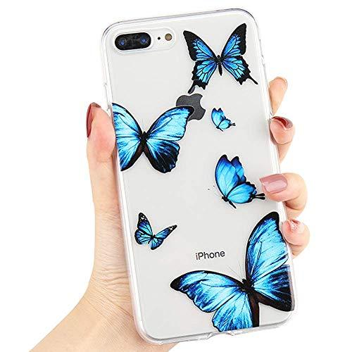 L-FADNUT Clear Phone Case for iPhone 6 Plus iPhone 6S Plus Cute Girls...