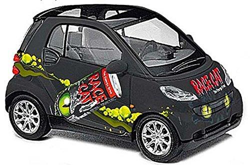 Busch Voitures - BUV46161 - Modélisme - Smart Fortwo - Race Cat - 2007