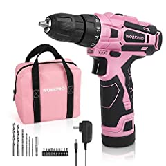 Super Safe & Lightweight & Ergonomic - Our lightweight drill is built especially small and light ( only weights 1.8 lb. ) and comes with ergonomic and comfortable handle so women and smaller men can use it with ease. Being so small and compact also h...