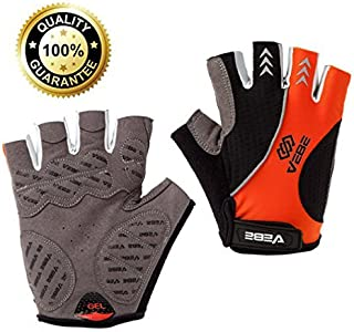 VEBE Cycling Gloves Biking Gloves - Non-Slip/Shock Absorption/Breathable Bicycle Gloves