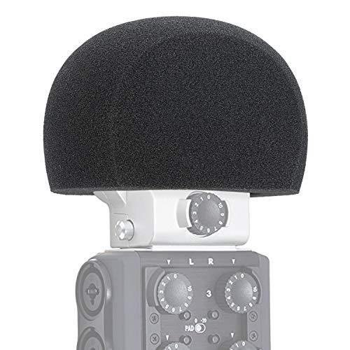 YOUSHARES Zoom H6 Micrófono Filtro Pop - Protector Contra el Viento para Grabadora Zoom H6