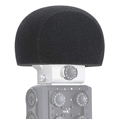 YOUSHARES H6 Schiuma antivento per microfono per parabrezza, filtri antivento per filtro pop per registratore portatile portatile Zoom H6