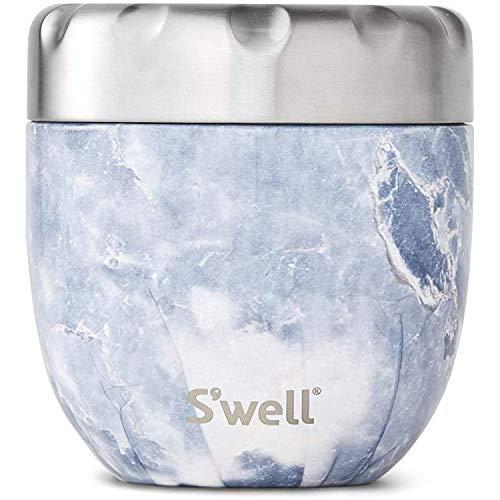S\'well Unisex– Erwachsene Lebensmittelbehälter, Blue Granite, 470mL