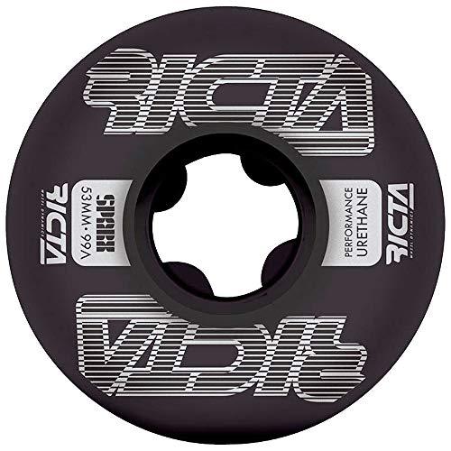 リクタ (RICTA) FRAMEWORK SPARX 53mm 99A BLACK スケートボード ウィール スケボー