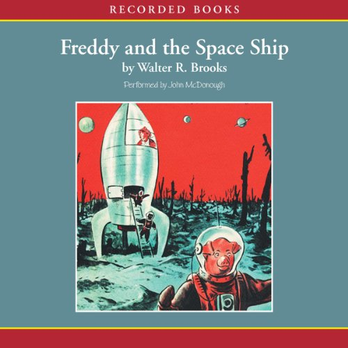Freddy and the Space Ship audiobook cover art