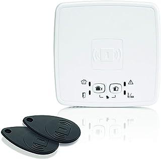 Honeywell Home evohome security SPR-S8EZS Draadloze activeringsschip-lezer met sirene, wit