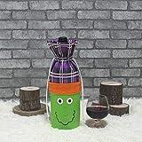 NCCZ La Botella de Vino de Halloween Creativo Vino Cubierta del Partido del Bolso Prop Decoracin (Bruja) (Color : Witch)