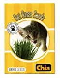 Chia Refill, 6 Count, Snoozing Kitty, Cat Grass Seeds, Pack of 6