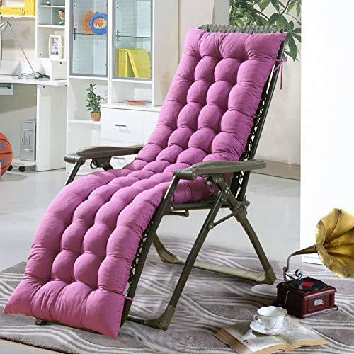 Cojín para asiento de sillón mecedora, cojín plegable antideslizante para silla, alfombrilla para asiento basculante giratorio grueso, sillón de mimbre para ocio, sofá relleno-k 48x155cm (19x61inch)