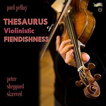 Pellay: Thesaurus of Violinistic Fiendishness, Books 1-7