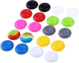 Mudder Silicone Thumb Stick Grips Caps Protect Cover for PS4, Xbox 360, PS3 Controllers, Mixed Color(Set of 10)