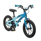 OLLO Premium Kinderfahrrad 14 Zoll (ab 3 Jahre) für Jungen & Mädchen (nur 6,1 kg) - blau