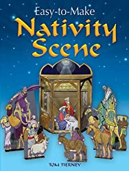 Easy-to-Make Nativity Scene (Dover Children's Activity Books)