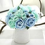 Roses Fake Flowers Heads Artificial Rose Flowers DIY 144 PCS Head Rose Flowers Wedding Bride Bouquet PE Foam DIY Party Festival Home Decor Rose Flowers