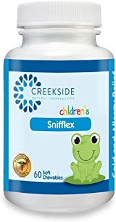 Snifflex - All Natural Cold and Allergy Relief for Children; Quercetin and Bromelain for Children