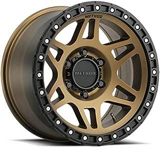 "MR312 18x9 8x6.5/8x165.1 18 Bronze Black Wheels(4) 18"" inch Rims"