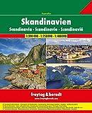 Skandinavien Superatlas, Autoatlas 1:250.000 - 1:400.000, Spiralbindung: Norwegen, Schweden, Dänemark, Finnland (freytag & berndt Autoatlanten)